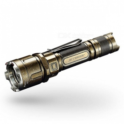 JETBeam IIIM PRO CREE XPL 1100LM 5-Mode Tactical LED Flashlight - Bronze