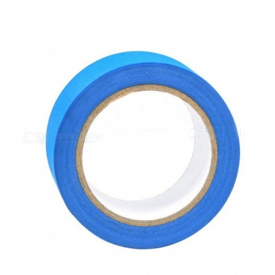 ZHAOYAO 48mm x 30m Heat-Resistant Paper Self-Adhesive Tape for 3D Printer Heating Bed - Blue