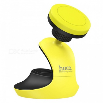 HOCO CA15 Swan Style 360 Degree Rotation Magnetic Car Mount Holder for Mobile Phone - Black