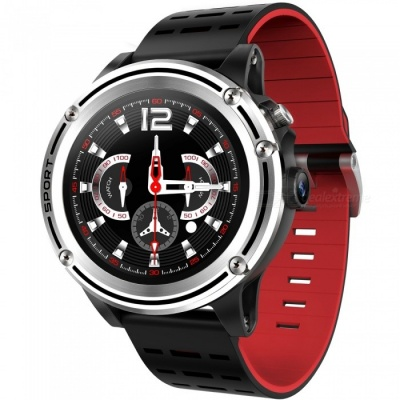 "MF31 1.3"" Touch Screen Bluetooth Smart Watch with GPS Positioning, Heart Rate Monitoring, Multiple Sports Mode - Red"