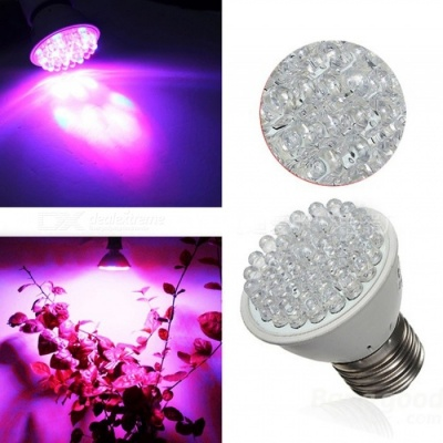 ZHAOYAO 10PCS E27 2W 110V LED Plant Growth Lamp Indoor Vegetable Flower Pot Planting Fill Light