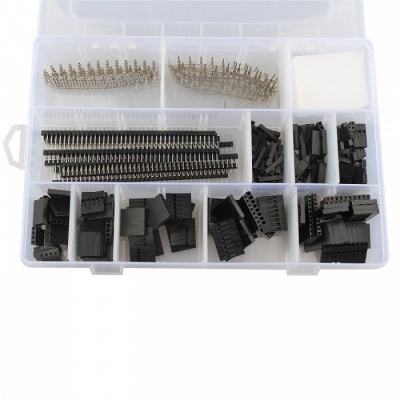 Hengjiaan 775Pcs 2.54mm PCB and Jumper Wire Cable Female Pin Connectors
