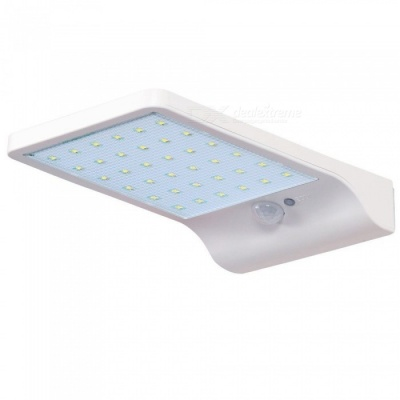 ZHAOYAO IP65 Waterproof Solar Rnergy 4W 450lm 2835 SMD-36LEDs Outdoor Human Sensor Solar LED Light - White