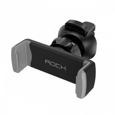 ROCK Adjustable ABS Universal Car Holder Air Vent Mount Stand for 4-6 Inches Phones Devices - Grey