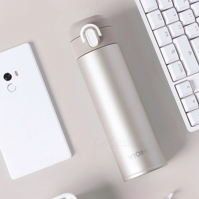 Xiaomi VIOMI Portable 316 Stainless Steel Vacuum Flask Water Bottle Thermos - Golden (300ml)