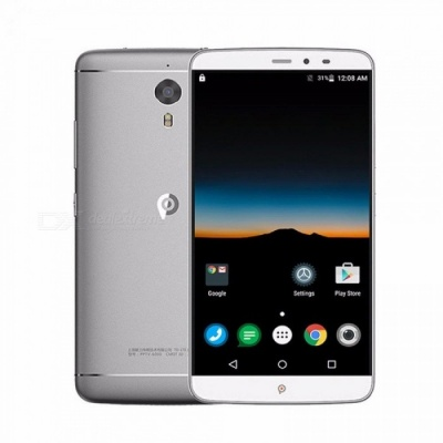 PPTV King 7S 4G LTE Mobile Phones 6.0 Inch Smartphone IPS 2.5D 2K Helio X10 Octa Core Android 5.1 3D Cellphone Silver