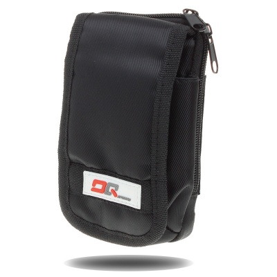 Multi-Function Sports Bag with Carabiner Clip - Black
