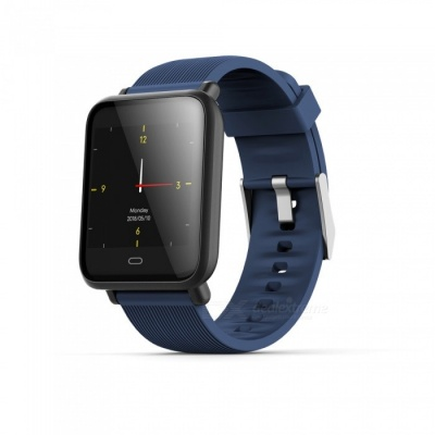 """Q9 1.3"""" Smart Sports Watch Bracelet with Blood Pressure / Blood Oxygen / Heart Rate Monitor - Blue"""