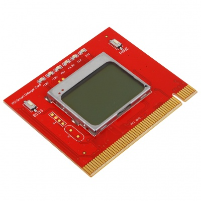 "1.7"" LCD PCI Diagnostic Test Debug Card for PC"