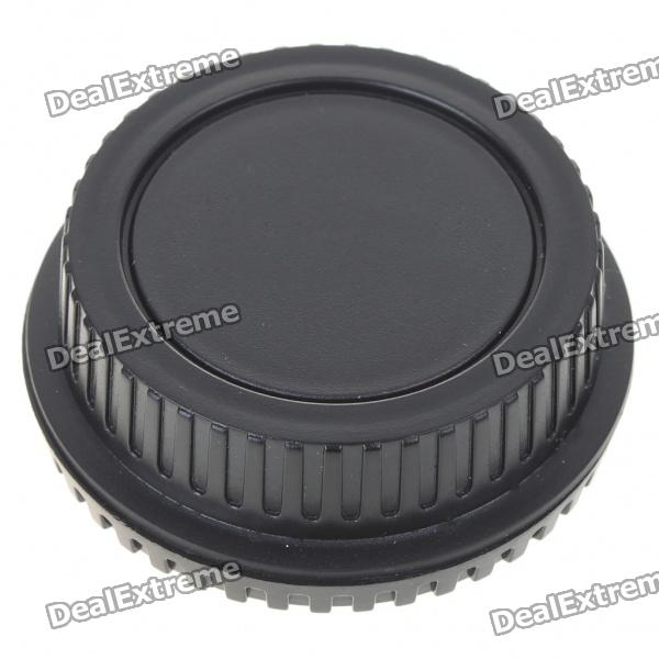 Camera Body + Rear Lens Cap Cover Set for Canon - Black