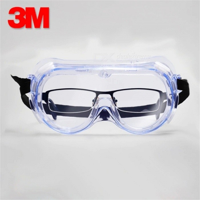 3M 1621 Polycarbonate Safety Goggles for Chemical Splash Pack of 1 Clear UK