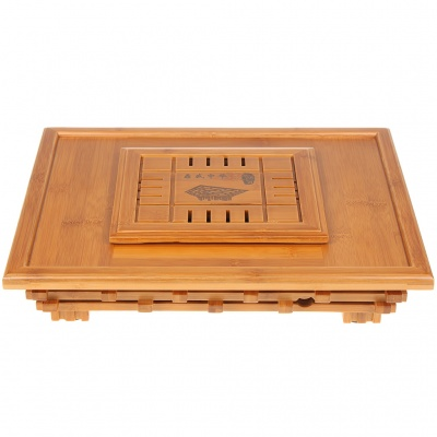 Classic Bamboo Tea Serving Table Tray