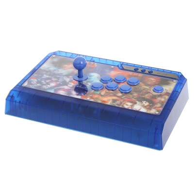Qanba Q4 USB Arcade Joystick Controller for PC - Blue