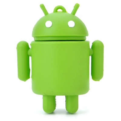 Cute Google Android Robot Style USB Flash/Jump Drive - Green (4GB)
