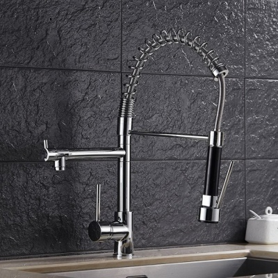 Modern High-Quality Copper Tap/Faucet Set - Silver