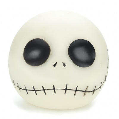 The Nightmare Before Christmas Jack Glow-in-the-Dark Coin Bank - White