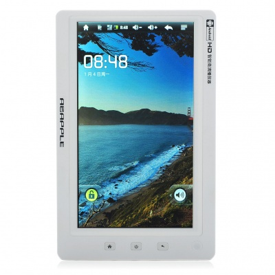 """7"""" TFT Resistive Touch Screen Android 2.1 Smart MP5 Media Player with WiFi/TF/HD TV-Out (8GB)"""