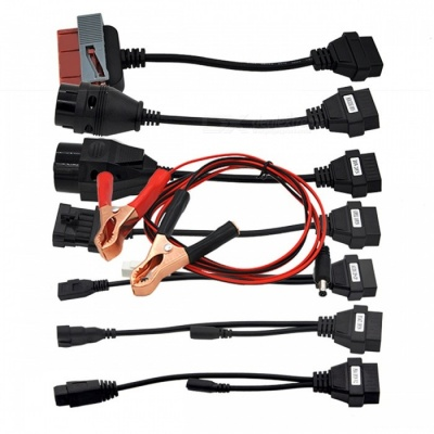 Full Set 8 Truck Cables for CDP TCS Plus MVD Multidiag Pro OBD2