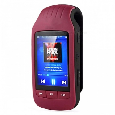 A505 1.8 Inches LCD 8GB MP3 Player Stereo Music Player - Red