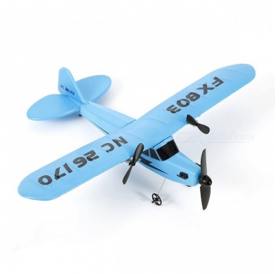 150m Distance RC Plane Toy for Kids Children Gift - Blue