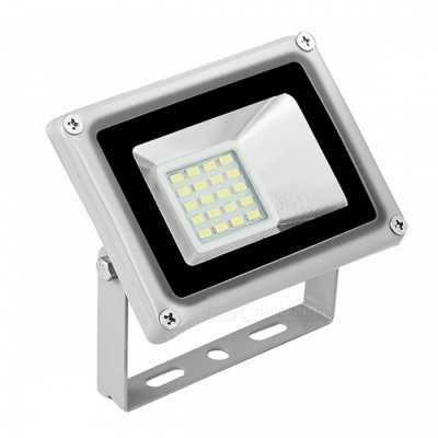 Portable IP65 Waterproof 20W Cold White LED Floodlight Spotlight Lawn Lamp - Grey