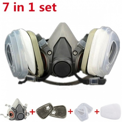 6200 Painting Spray Dust Protector Respirator, Half Face Gas Mask