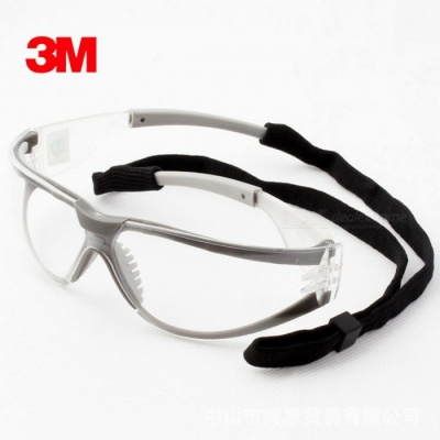 3M 11394 Anti-fog Anti-sand Windproof Anti-dust Safety Goggles, Protective Working Eyewear