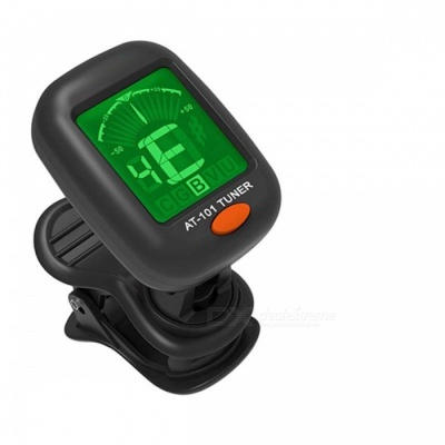 Type C Chromatic Clip-On Digital Tuner for Acoustic Electric Guitar Bass Violin Ukulele