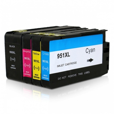 TIANSE Ink Cartridges for HP 950XL, HP 950 XL 951XL HP950XL HP950