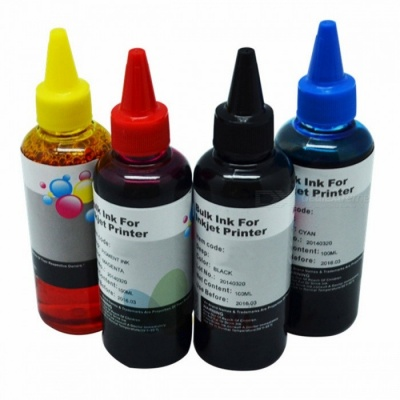 400ML Universal Refill Ink Kit for Epson Canon HP Brother Lexmark DELL Kodak Inkjet Printer