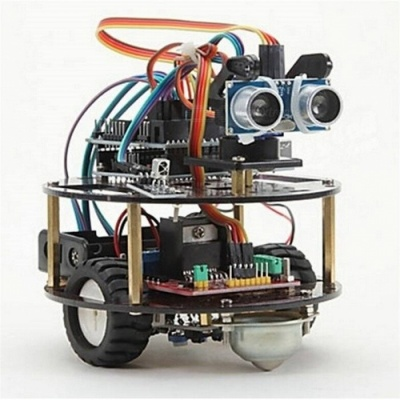 Intelligent Turtle Wireless Control Based Car Learning Suite, Assembly Kit for Arduino Robot Car