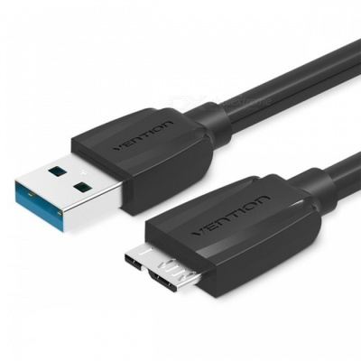 Vention Micro USB 3.0 Data Sync Charging Cable - Black (50CM)