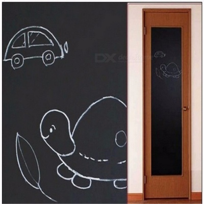 Chalk Board Wall Sticker Blackboard Sticker Removable Vinyl Draw Decor Mural Decals Art Chalkboard for Kids Room