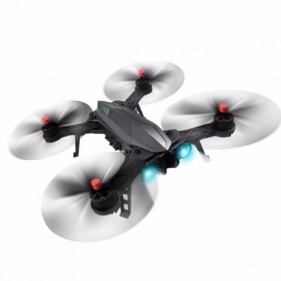 MJX Bugs 6 & B6 2.4GHz 4CH 6-Axis RC Drone Brushless Motor RC Quadcopter 5.8G Image Transmission Camera RC Helicopter VS X102H Black (C5830 D43)