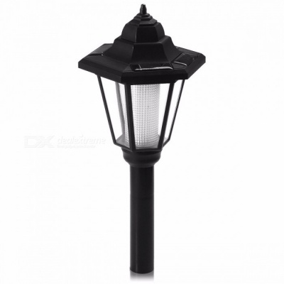 Outdoor Solar Powered Energy LED Pathway Light Waterproof Fence Path Street Landscape Lawn Lamp for Garden Decoration White Light