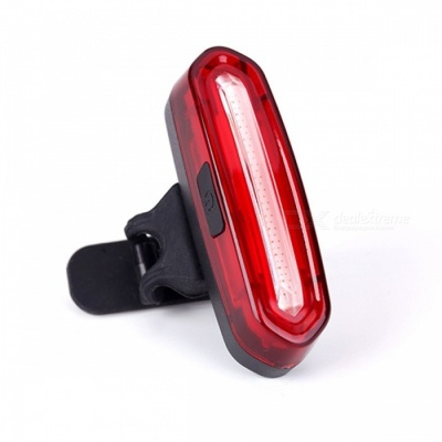 WHEEL UP Bike Bicycle LED Tail Light Waterproof Riding Rear Light USB Redchargeable Mountain Bike Cycling Light Tail Lamp 1 color red