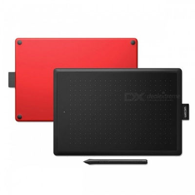 Wacom CTL-472 / CTL-672 Digital Graphic Drawing Tablet Pad with Small / Medium 2048 Pressure Level    Red