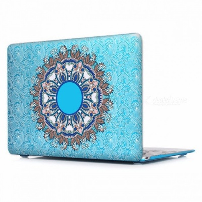 Unique Chic Printed Floral Paisley Pattern Laptop Case Cover with Touch Bar for Apple Mac Macbook Air Pro 13 A1502 A1425/P003