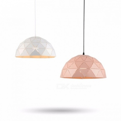 Creative Modern Kitchen Pendant Light Ceiling Lamp Hanging Lamp Iron Lampshade Minimalist Design Shade Luminaire Dining Room Pink