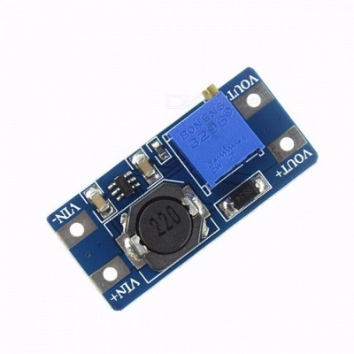 Premium New MT3608 2A Max DC-DC Step Up Power Module, Booster Power Module Board for Arduino DIY Kit  blue