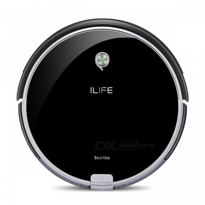 ILIFE A6 Robotic Vacuum Cleaner Smart Stylish Cleaner with LED Breathing Indicator Light for Home Cleaning - US