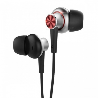 Rock Y5 3.5mm In-ear Stereo Eerphones Sweat-proof Earbuds Bass Headset with Microphone for IPHONE Samsung Xiaomi Red