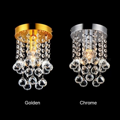 High-End Glorious Lustre Luxury Crystal Chandelier, Ceiling Hanging Pendent Lamp for Living Room Decoration S gold