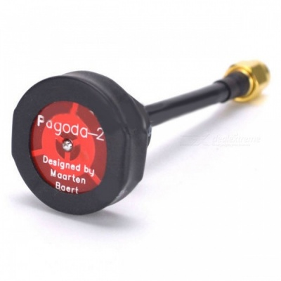 Pagoda 2 High Quality 5.8GHz FPV Antenna SMA & RP-SMA Plug Connector for RC FPV Racing Drone Quadcopter Long SMA