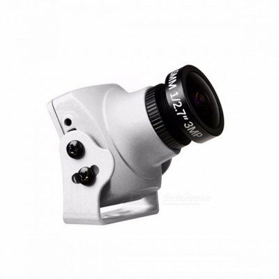 "Original Foxeer Monster V2 Mini Camera 1200TVL 1/3"" CMOS 16:9 PAL, NTSC FPV Camera with OSD and Audio Silver"