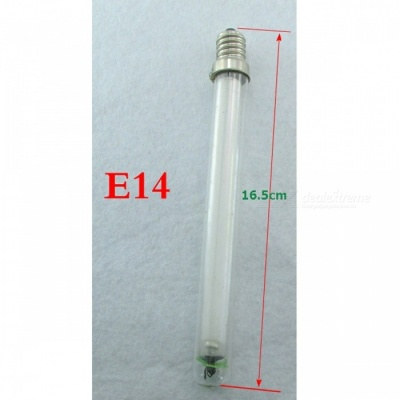 3W E14 UV 365nm UV Light Tube Electric Mosquito Lamp Bug Zappers Fly and Mosquito Killer Trap Replacement Light 2PCS E14 Length 165mm/3W/UVA