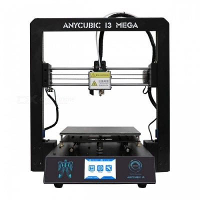 Anycubic I3 Mega Premium Full Metal Frame Colorful Industrial Grade High Precision Affordble Desktop 3D Printer Black EU plug