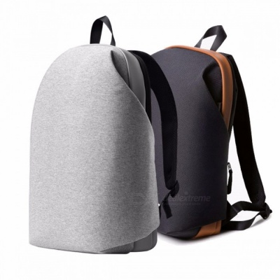 "Original Meizu Brief Style School Backpack for Women Men, Student Gaming Bag, 15.6"" Laptop IPAD Macbook Bag Gray"
