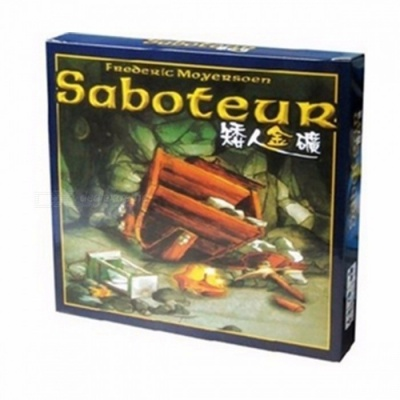 """""""Saboteur"""" Board Game, Jeu De Base + Extension Board Game with English Instructions for Family, Friends Saboteur 1version"""