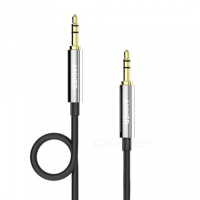 Anker 3.5mm Premium Auxiliary Audio Cable, (4ft / 1.2m) AUX Cable for Headphones, IPODS, IPHONES, IPADS, Home / Car Stereos 1.2m